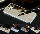 Ultra-thin Luxury Mirror Soft TPU Frame Case Cover For Samsung Galaxy S6/S6 Edge