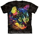 Mysterio Gaze Adults Cat T-Shirt, Dean Russo, The Mountain T-Shirts - Sz 14-28