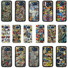 Superhero Comic Book Strips Case Cover for Samsung S3 S4 S5 S6 - 43
