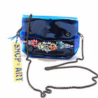 8432G pochette donna blu SHOP ART borsa borsetta tracolla accessori bag women