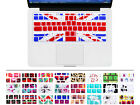 UK England FLAG Silicone Keyboard Cover Skin film For Apple Macbook Pro 13 15 17