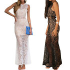 Sleeveless Summer Gorgeous Style Stalker Party Cocktail Evening Maxi Dress