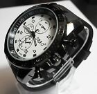 Stainless Steel Luxury Sport Analog Quartz Modern Men Fashion Wrist Watch