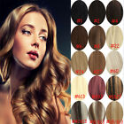 14''16''20''22'' clip in real human hair extensions ★ black brown blonde red hot