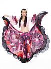 Belly Dance Costume Tribal Bohemia Gypsy 720°Big Dress Skirt&Blouse Top 2 Colors