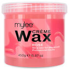 Mylee Hair Removal Soft Creme Wax Honey Tea Tree Rose Depilation Waxing 425g Pot
