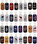 NFL METAL DOG TAG NECKLACE * KEY CHAIN * YOU PICK YOUR TEAM * FOOTBALL* LICENSED