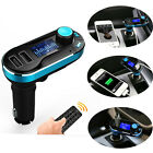 HOT Wireless Bluetooth FM Transmitter MP3 Player Car Kit Charger For iPhone
