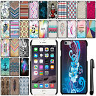 "For Apple Iphone 6 Plus 6S Plus 5.5"" SLIM FIT PATTERN HARD Case Back Cover + Pen"