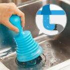 HOT Plunger Blocked Toilet Drain Sink Unblock Pipe Plastic Bathroom Supplies LA