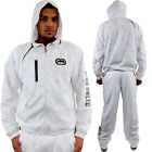 Ecko Unltd Technic Active Wind Breaker Shower Full Tracksuit Marc Hooded Mens