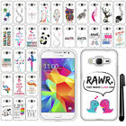 For Samsung Galaxy Core Prime G360 Cute Design PATTERN HARD Case Cover + Pen