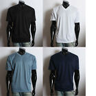 New Men's Casual V-Neck Short Sleeve comfortable T-Shirts Black White Navy Blue