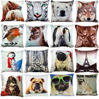 Animal Photographic Soft Suede / Velvet Touch Filled Cushions or Cushion Cover