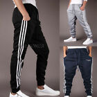 Sommer~New Men's Designer Skinny Slim Fit Stretch Bottoms Joggers Pants Trousers