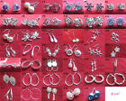 Sterling Silver 925 Anti-allergic Fashion Earrings - 41 Styles You Choose