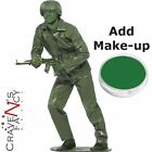 Green Plastic Toy Army Soldier Costume Toy Story Mens Male Fancy Dress Stag Do