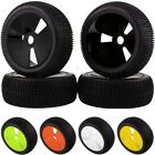 4PCS RC 1/8 OFF-ROAD BUGGY Wheel Rim & Tyre Tires 83-806 For HSP RedCat Racing