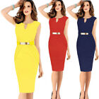 Fashion Womens Sexy Bandage Evening Cocktail Party Pencil Party Dress Plus Size