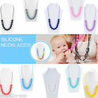 Baby Teething Necklace Mums Jewellery Nursing Pain Relief Organic Round Beads
