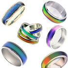 Stimmungsring Gr. 16 17 18 19 20 Mood Ring Gefühlsring Multicolor Kinder Damen ❤