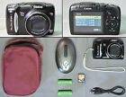 CANON POWERSHOT SX120 IS 10.0 MP DIGITAL CAMERA + ACCESSORIES