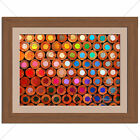 Colourful Pencils Home Bedroom Kids Abstract Print - Various Sizes - Gift Idea