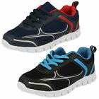 Boys Reflex lace up trainers Style N1089