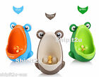 Toilet Training Potty Aid with Wee Pee Target Aim Boys Frog Toddler Urinal