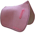 Baby Pink English Saddle Pads in 3 Sizes: Dressage | All-Purpose | Pony*