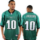 Reebok NFL 10 Jackson Super Bowl Eagles Jersey American Football Shirt Top Mens