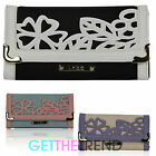 Ladies LYDC Flapover Large Wallet Womens Floral Flap Purse Clutch Bag Gift Box