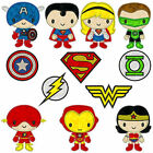 * SUPERHEROS 1 * Machine Applique Embroidery Patterns * 12 designs in 2 sizes