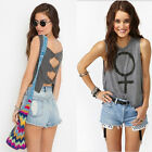 Womens Summer COcktail Sleeveless Blouse Casual Backless Beach mini dress