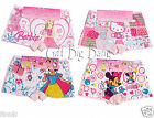 8PCS Cartoon Cotton Boxers Briefs Underwear Underpants for 2~6 Year-old Girls