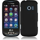 lg extravert cases - For LG Extravert 2 VN280 Rubberized HARD Protector Case Cover W/Screen Protector
