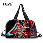 Women's Men Canvas Duffel Bag Travel Sports weekend Holdall Luggage Gym Fitness