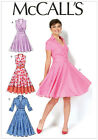 McCalls 7081 4 in 1 Wrap Bodice Dress Full Skirt 50s retro Sewing Pattern M7081