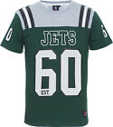 Official NFL Majestic Athletic New York Jets Green Gatril Grey Tee Coach T Shirt