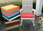 "18""X17""X2"" Foam Cushion Pad for Rocker Rocking Chair  -  SOLID COLORS - Outdoor"