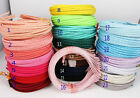 Wholesale 10pcs 5mm DIY Multicolor Satin Ribbon Covered Headband Metal Hair Band