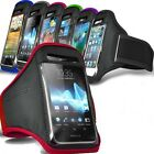 SPORTS RUNNING & KEEP FIT ARMBAND POUCH WITH VELCRO STRAP FOR SONY XPERIA PHONES