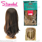 "Stranded Wag in Bag Synthetic 22"" Straight Wavy Half Head Wig - Britney"