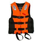 Adult Safety Foam Swimming Buoyancy Aid Kayak Sailing Life Jacket Vest & Whistle