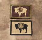 Subdued WYOMING State Flag Patch