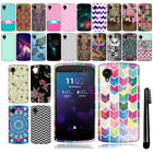 For LG Google Nexus 5 D820 Cute Design TPU SILICONE Rubber Case Phone Cover +Pen