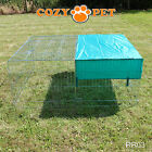 Cozy Pet Rabbit Run Play Pen Guinea Pig Dog Playpen Chicken Puppy Cage Hutch