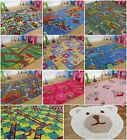 Childrens Kids Rugs Boys Girls Play Mat Bedroom Playroom Roads Baby Play Mat Rug