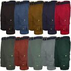 "MENS MULTIPOCKET CARGO SHORTS COTTON COMBAT PANTS SUMMER BOTTOMS SIZE W 28""-40"""