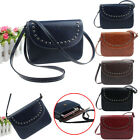 Fashion Girl Women Vintage Messenger Bags Faux Leather Handbags Shoulder Bags
